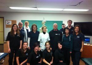 Clinique Pascale Bélisle massothérapie kinésithérapie orthothérapie à Blainville sur la rive-nord de Montréal - classe enseignement